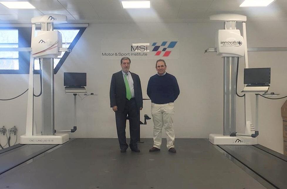 Jesús de la Maza (Innovalia Group President) and Teo Martin